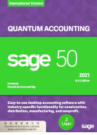 Sage 50 Peachtree Quantum Accounting software